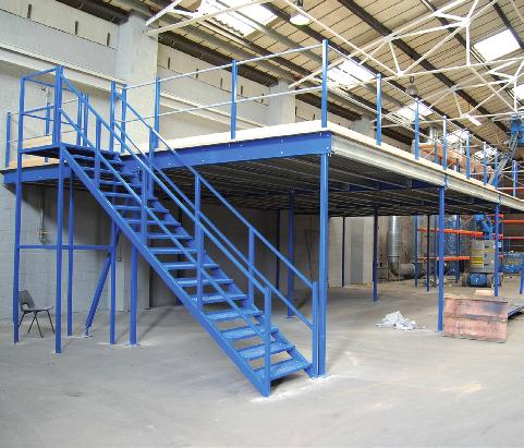 Mackay storage solutions mezzanine floors mackay storage for Mezzanine floor construction details